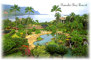 Hanalei Bay Resort Beach Access